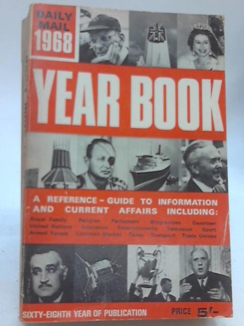 Daily Mail Yearbook 1968 By G B Newman