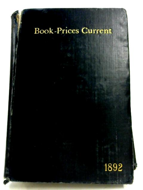 Book-Prices Current: Vol. VI by Anon