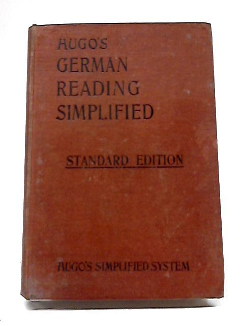 Hugo's German Reading Simplified By Hugo