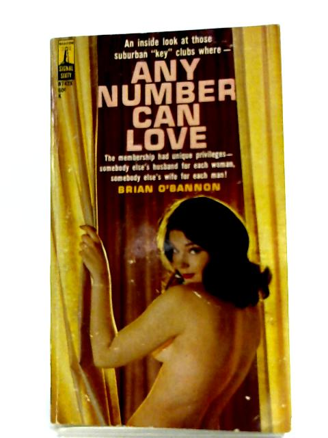 Any Number Can Love By Brian O'Bannon