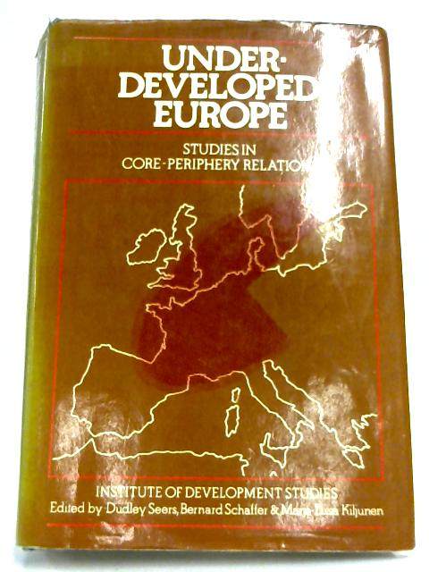Underdeveloped Europe By Various