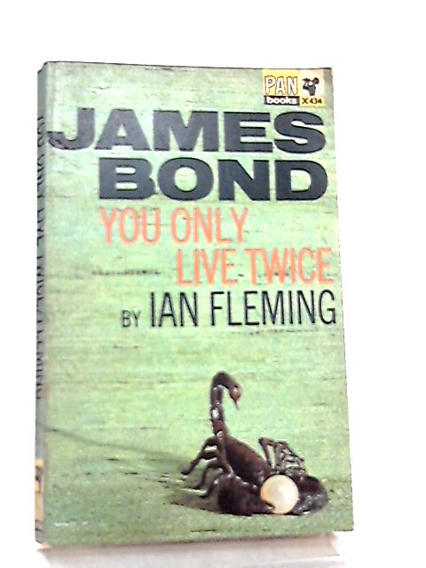 James Bond You Only Live Twice by Ian Fleming