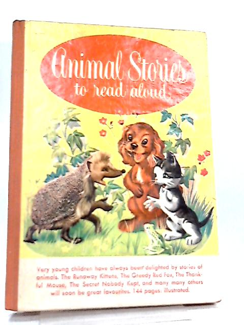 Animal Stories to Read Aloud By No Author