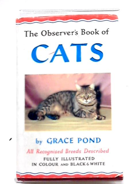The Observer's Book of Cats (Observer's Pocket Book Series) By Grace Pond