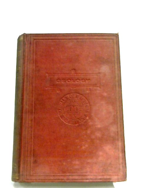 Class-Book Of Geology By Sir Archibald Geikie