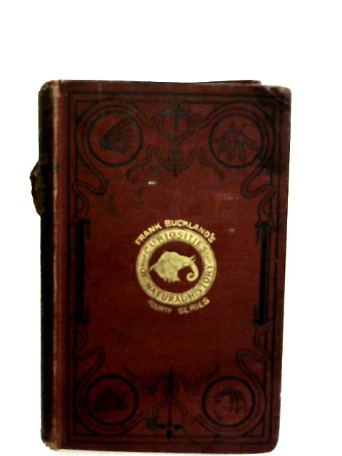 Curiosities of Natural History, Fourth Series By Buckland, Francis T.