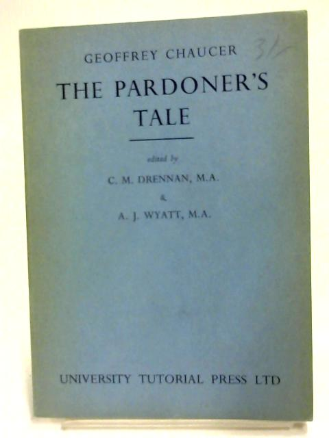 The Pardoner's Tale By Geoffrey Chaucer
