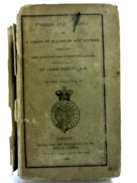 Theron and Aspasio Vol II By James Hervey