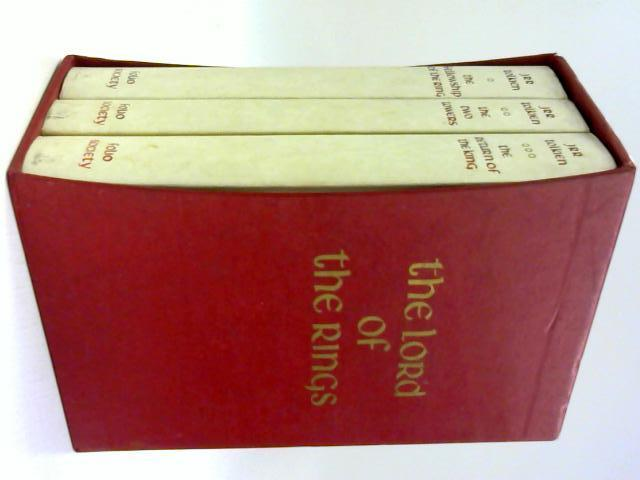 The Lord of the Rings Boxed Set by JRR Tolkien
