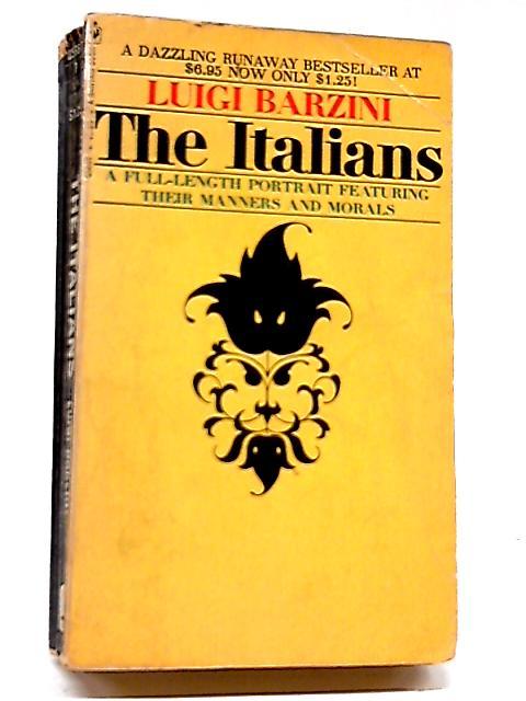 The Italians by Luigi Barzini