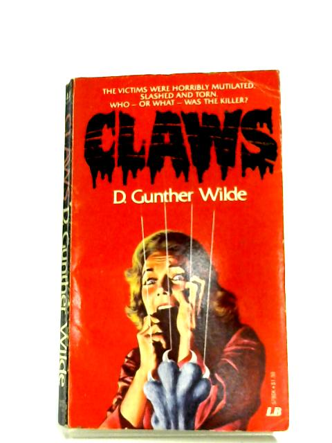 Claws by D. Gunther Wilde