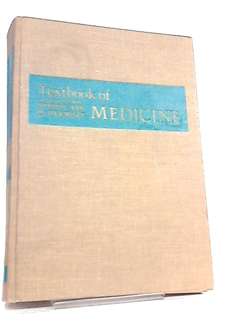Textbook of Medicine By Paul B. Beeson et al