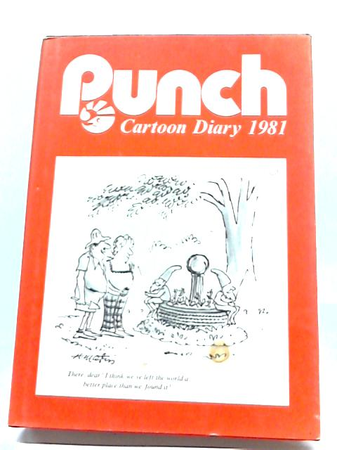 Punch Cartoon Diary 1981 At Harrods By Unstated