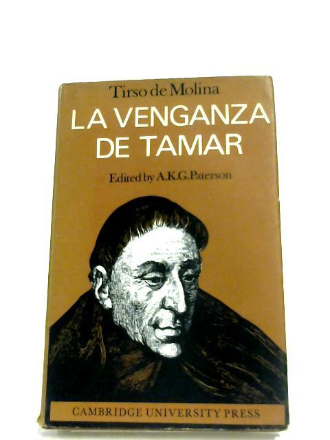 La Venganza De Tamar By Tirso De Molina