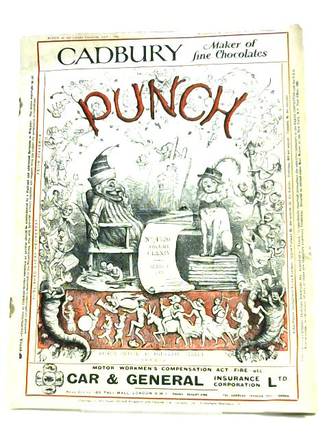 Punch: No. 4526 Volume CLXXIV By Anon