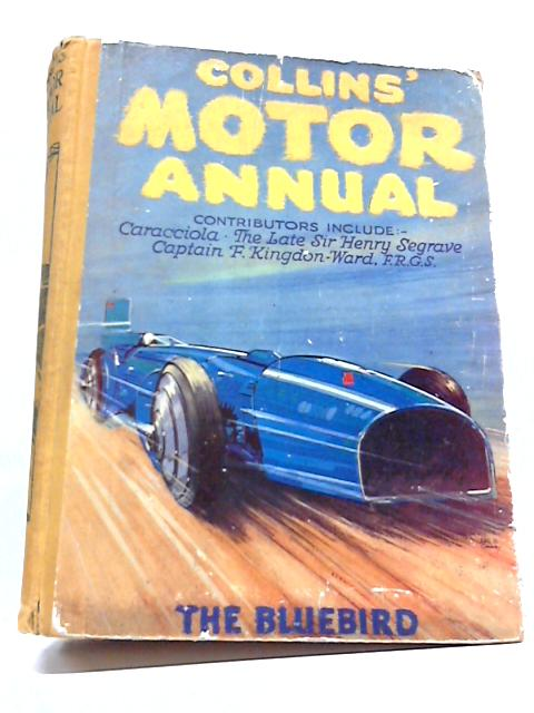 Collins Motor Annual By Various