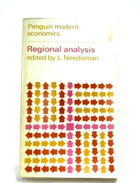 Regional Analysis by L. Needleman (Editor)