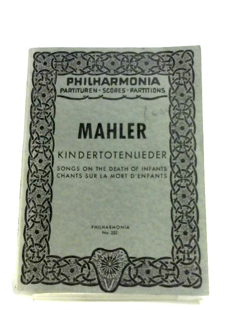 Kindertotenlieder By Mahler
