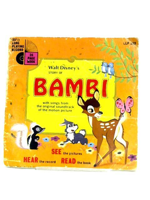 Story Of Bambi By Walt Disney World Of Books