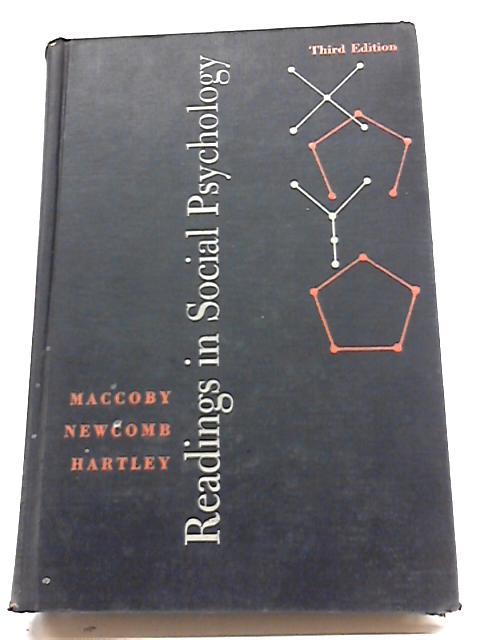 Readings in Social Psychology by E E Maccoby et al