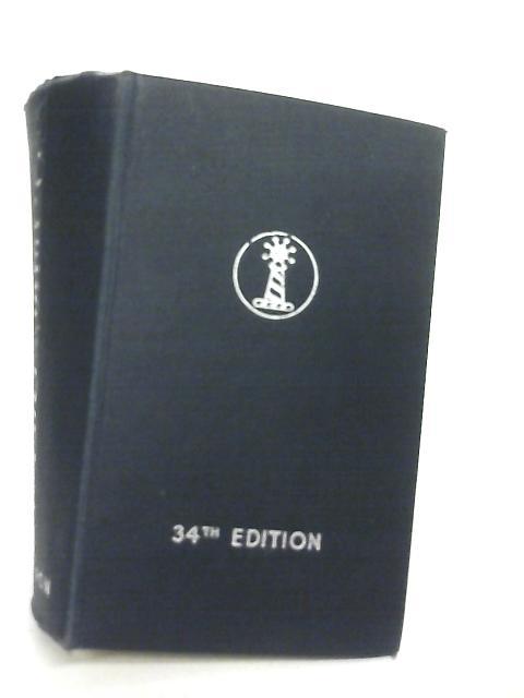 Molesworth's Handbook of Engineering Formulae and Data by Albert Peter Thurston