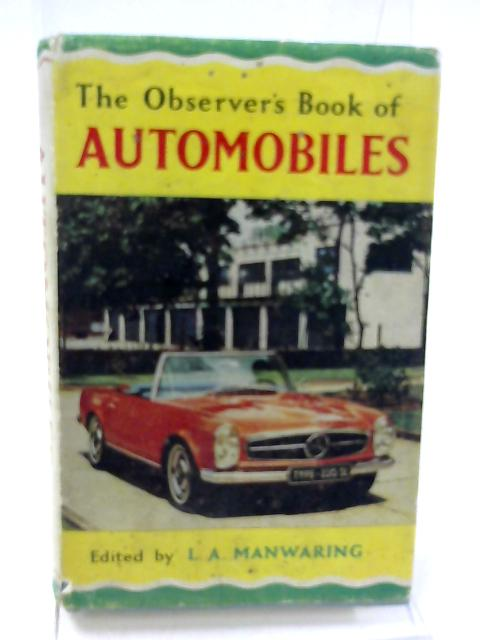 The Observer's Book of Automobiles by L. A. Manwaring ed.