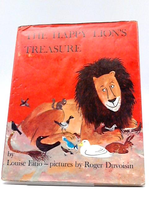 The Happy Lion's Treasure by Louise Fatio