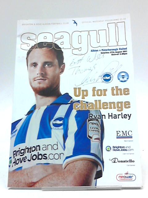 Seagull Albion v Peterborough Saturday 27th August 2011 By Brighton & Hove Albion