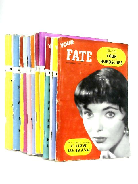 Fate Magazine January-November 1957 by Various