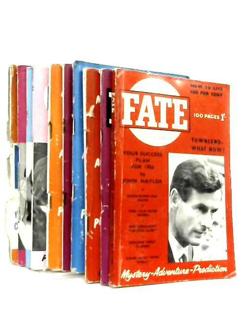 Fate Magazine 10 Issues 1956 by Various