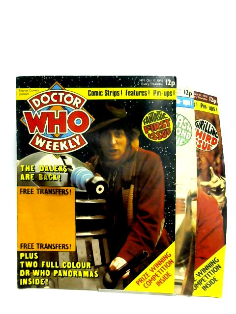 Doctor Who Weekly: No. 1-3 by Various