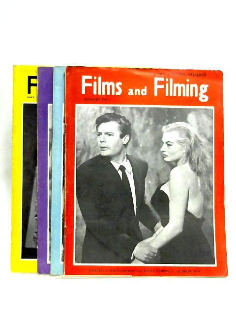 Films And Filming 1961: Vol. 7 No. 4, 5, 6 & 8 by Various