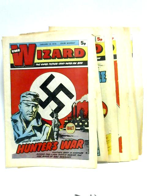 The Wizard: 6 Issues, Jan-April 1976 by Various