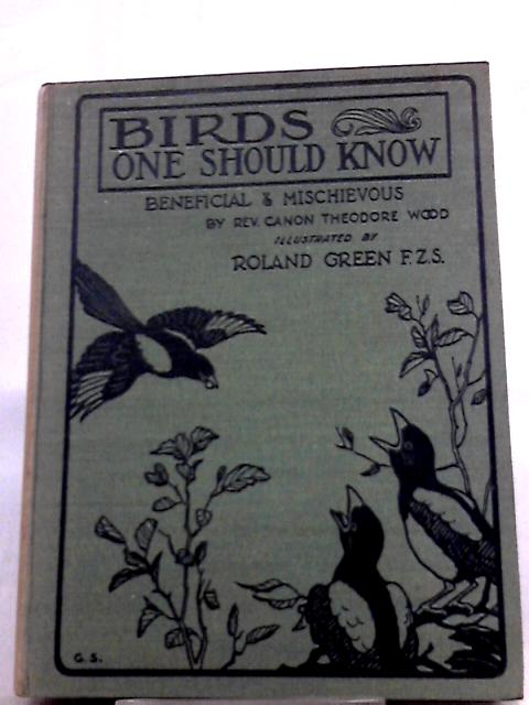 Birds One should Know Beneficial and Mischievous By Rev Canon Theodor Wood