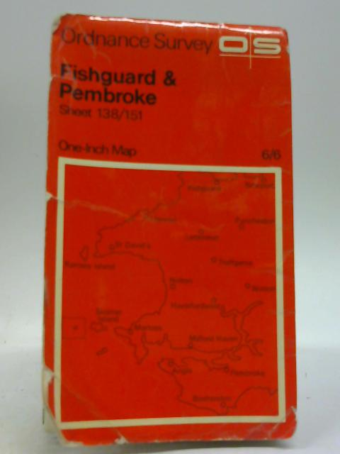 One-Inch Map Of Fishguard And Pembroke, Sheet 138-151 By Unknown Author