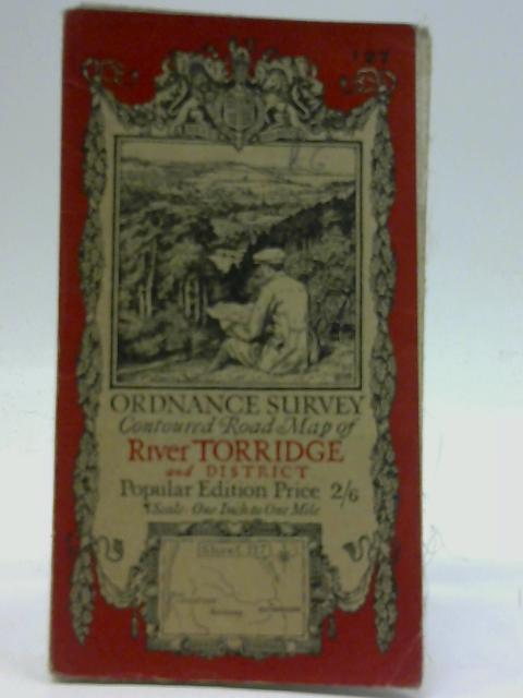 Ordnance Survey Contoured Road Map [One-inch Popular Edition], sheet 127, River Torridge and District by Ordnance Survey