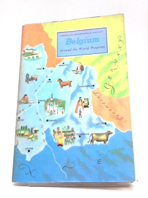 American Geographical Society - Belgium - Around the World Program by William W Davenport