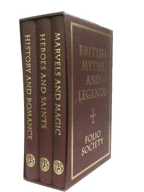 British Myths and Legends Box Set by Richard Barber