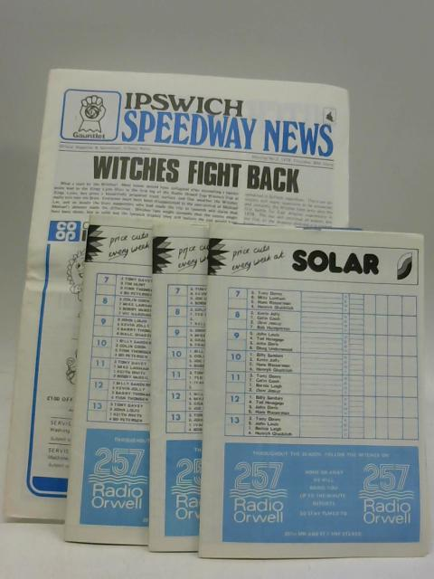 4X Ipswich Speedway News (1st of June, 31st of August, 30th March, 6th April) 1978 by Anon