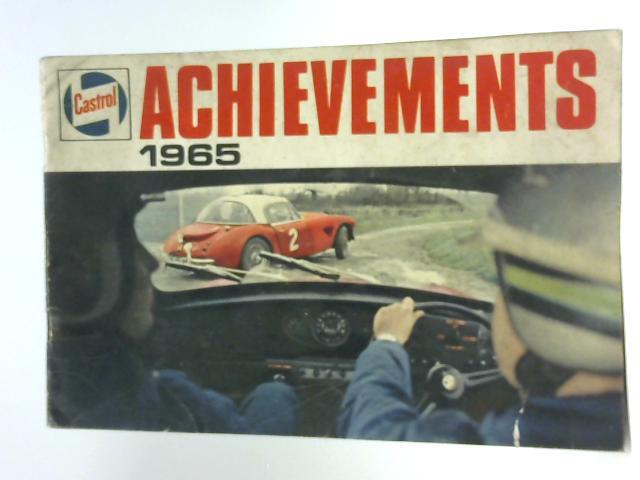 Achievements 1965 By Castrol Ltd