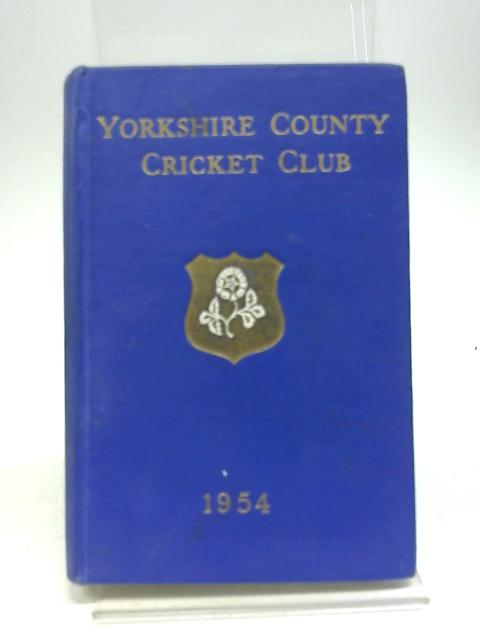 Yorkshire County Cricket Club 1954. by Anon