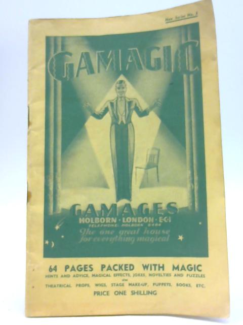 Gamagic Catalogue No. 5 By Unknown Author