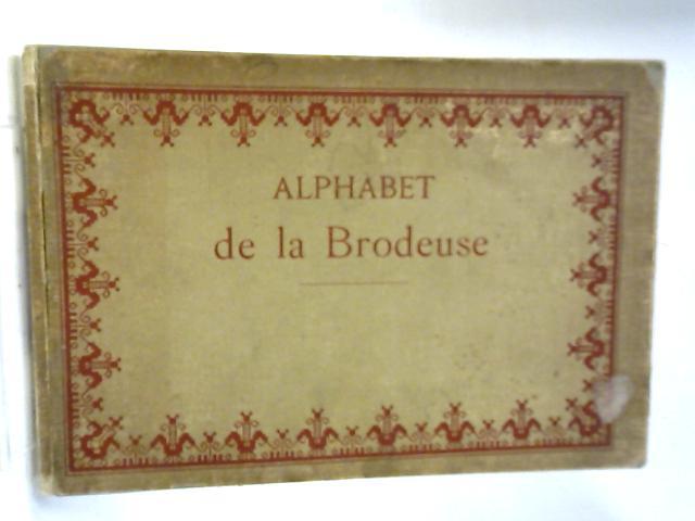 Alphabet de la Brodeuse By Unnamed