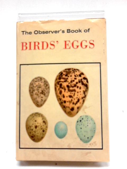 The Observer's Book of Birds' Eggs By G Evans