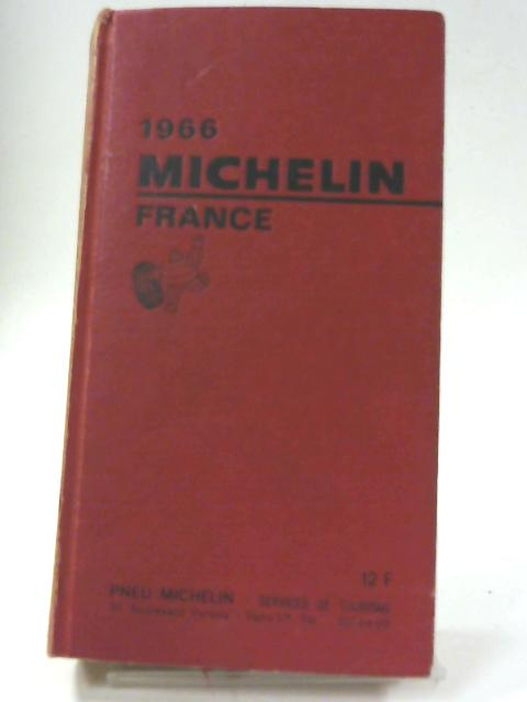 1966 Michelin France By Unnamed