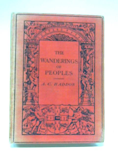 The Wandering of Peoples By A C Haddon