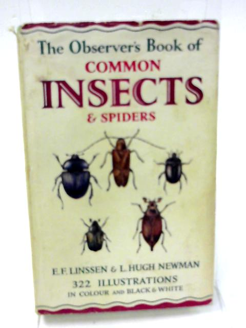 The Observer's Book of Common Insects & Spiders By Eugene F Linssen