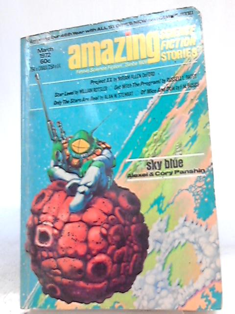 Amazing Science Fiction Stories, March 1972, Vol. 45 No. 6 by Ted White (Ed.)