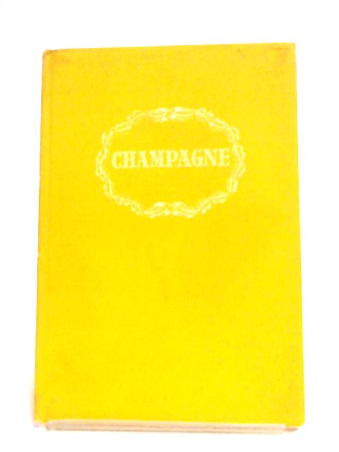 Champagne By Andre L. Simon (Editor)