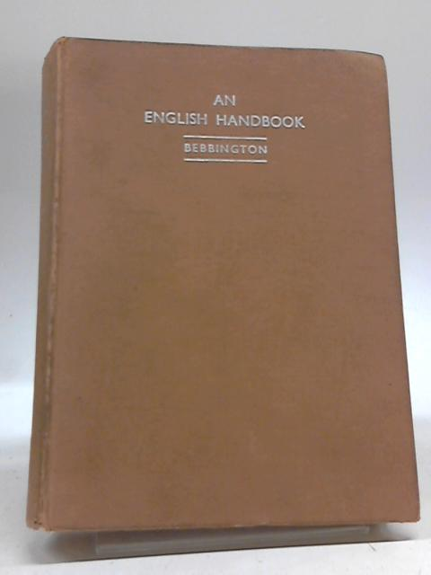 An English Handbook By W. G. Bebbington